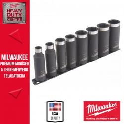 """Milwaukee SHOCKWAVE™ IMPACT DUTY 3/8"""" Dugókulcs készlet - hosszú (8 db)"""
