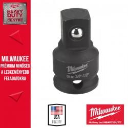 """Milwaukee Dugókulcs Adapter, gépi, 3/8"""" négyszög - 1/2"""" négyszög"""