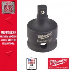 """Milwaukee Dugókulcs Adapter, gépi, 3/8"""" négyszög - 1/4"""" négyszög"""