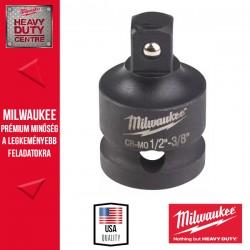 """Milwaukee Dugókulcs adapter, gépi, 1/2"""" négyszög - 3/8"""" négyszög"""