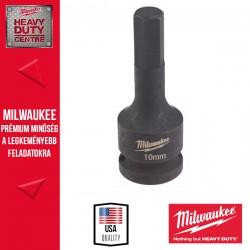"""Milwaukee HEX10 1/2″ Dugókulcs 1/2"""" Dugókulcsbetét, belső hatlapú csavarokhoz, 10 mm"""