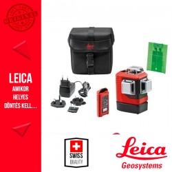 Leica Lino L6Gs Precíziós 3x360° Többfunkciós zöld vonallézer hordtáskában