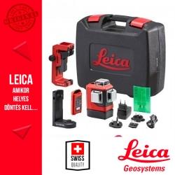 Leica Lino L6G Precíziós 3x360° Többfunkciós zöld vonallézer kofferben