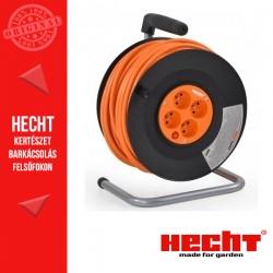 HECHT 450153 Hosszabbító kábel dobbal és 4 aljzattal - 50 m