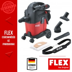 FLEX VC 6 L MC Kompakt L osztályú porszívó, kézi szűrőtisztítással, 6 L