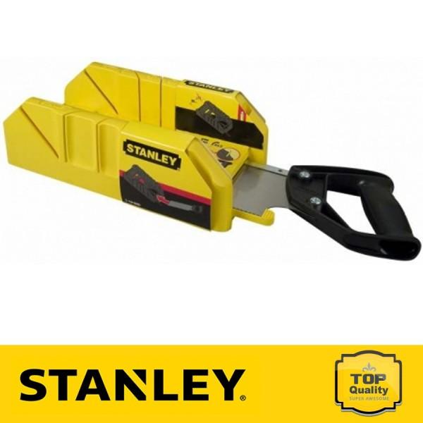 Stanley Műanyag gérvágó láda fémfűrésszel