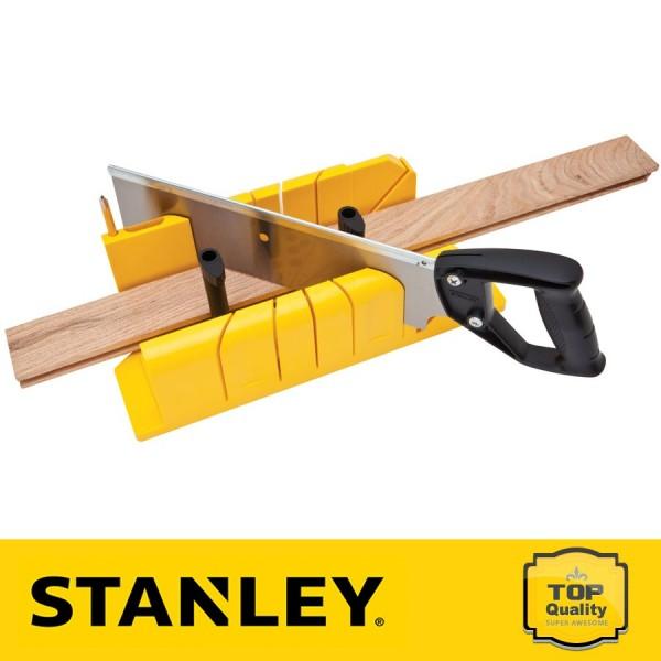 Stanley Műanyag gérvágó láda fűrésszel