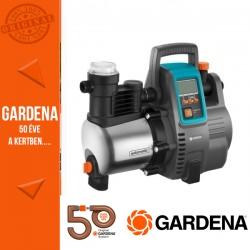 GARDENA Premium háztartási automata szivattyú 6000/6E LCD Inox