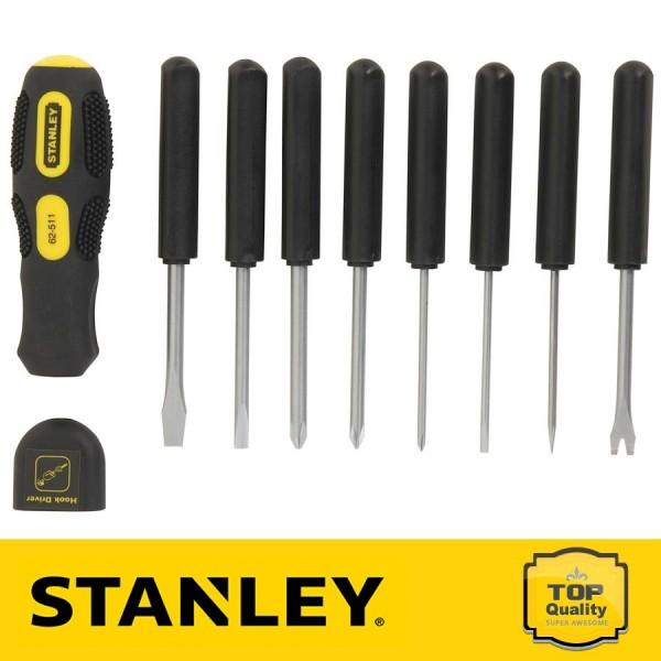 Stanley Multifunkciós csavarhúzó készlet 9 db