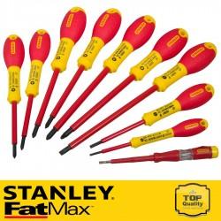 Stanley FatMax szigetelt 10db-os csavarhúzó készlet