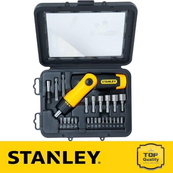 Stanley 22 részes racsnis készlet