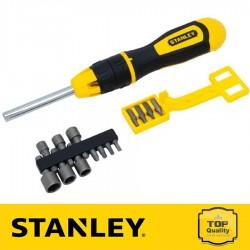Stanley 20 részes csavarhúzó bitekkel