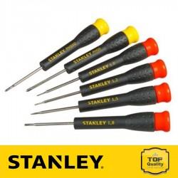 Stanley Precíziós csavarhúzó készlet 6 részes