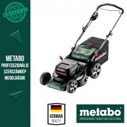 METABO RM 36-18 LTX BL 46 Akkus fűnyíró akuszettel (2x 5.2 Ah akku, ASC 145 Duo gyorstöltő)