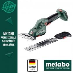 METABO SGS 18 LTX Q Akkus Fűszegély és bokorvágó olló, metaBOX 145 L kofferben (akku és töltő nélkül)