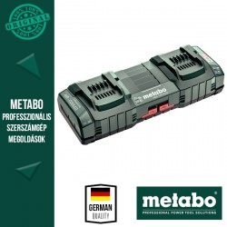 "METABO Dupla Gyorstöltő ASC 145 DUO, 12-36 V, ""AIR COOLED"", EU"