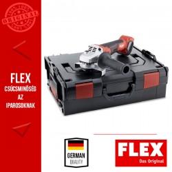 FLEX LB 125 18.0-EC Akkumulátoros Sarokcsiszoló fékkel, 18.0 V, 125 mm (akku és töltő nélkül)