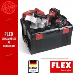FLEX RFE 40 18.0-EC/5.0 SET Akkumulátoros fa horonymaró szett (2x 5.0 Ah akkuval és töltővel)