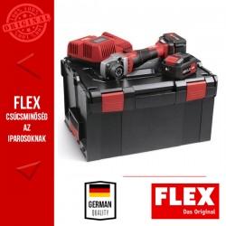 FLEX BME 18.0-EC/5.0 SET Akkumulátoros TRINOXFLEX alapgép szett, 18.0 V (2x 5.0 Ah akkuval és töltővel)