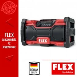 FLEX RD 10.8/18.0/230 Digitális, akkus rádió 10,8 / 18.0 V (akku és töltő nélkül)