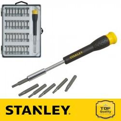 Stanley Precíziós Hex bit készlet 37 részes