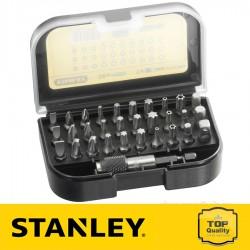 """Stanley 31 részes 1/4"""" behajtófej készlet 25 mm"""