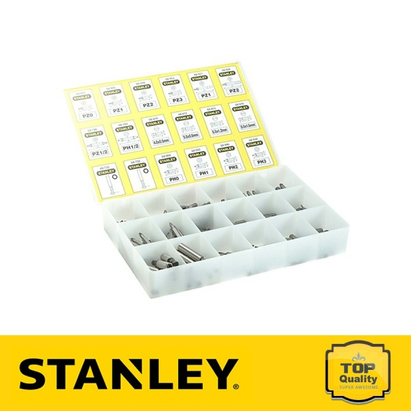 Stanley 200 részes bit készlet