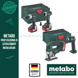 Metabo Combo Set 4.2.1 Akkus gépszett 18V