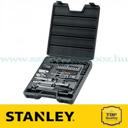 """Stanley 52 részes 1/2"""" és 1/4"""" dugókulcs készlet"""
