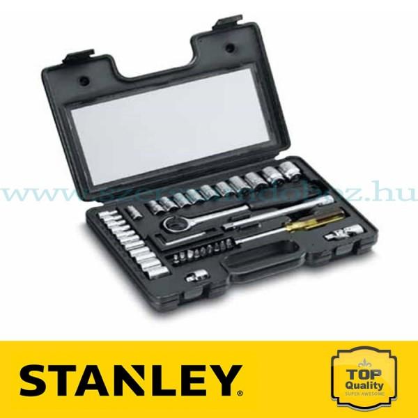 """Stanley 40 részes 1/4"""" és 3/8"""" metrikus dugókulcskészlet"""