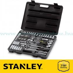 """Stanley 75 részes 1/2"""",1/4"""" és 3/8"""" metrikus dugókulcskészlet"""