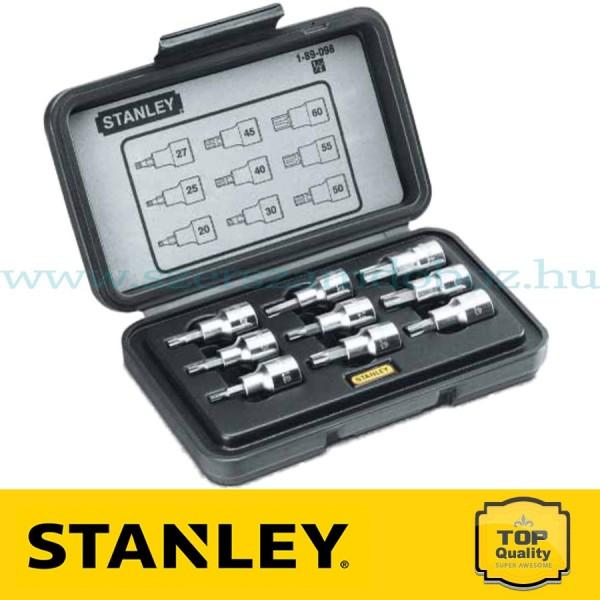 """Stanley 9 részes 1/2"""" Torx dugókulcskészlet"""