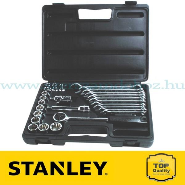 """Stanley 26 részes 1/2"""" Dugókulcskészlet és csillagvilláskulcs"""