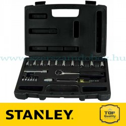 """Stanley 20 részes 1/4"""" Dugókulcs készlet"""