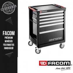 FACOM Chrono kocsi, szürke - 6 fiókkal
