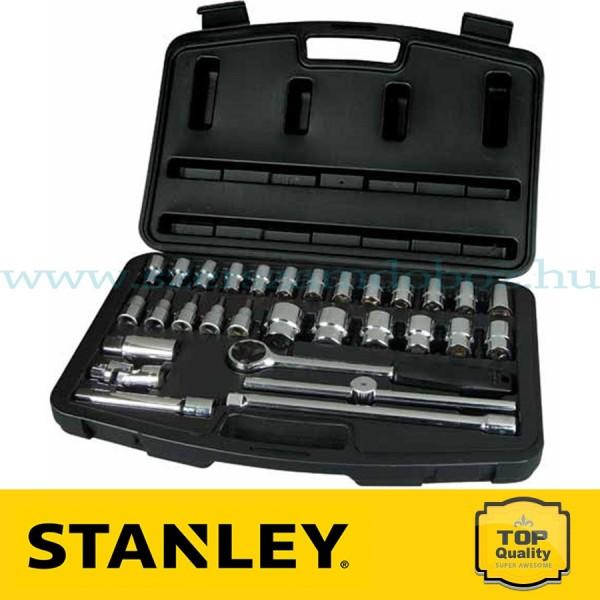 """Stanley 30 részes 1/2"""" Dugókulcs készlet"""