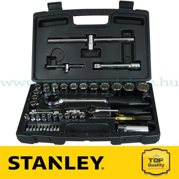 """Stanley 50 részes 1/2"""" és 1/4"""" Dugókulcs készlet"""