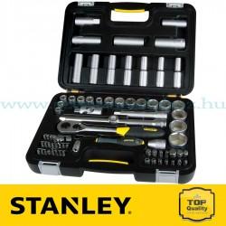 """Stanley 72 részes 1/2"""" Ipari dugókulcs készlet"""