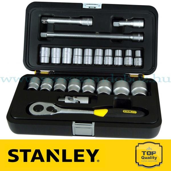 """Stanley 23 részes 1/2"""" Ipari dugókulcs készlet"""