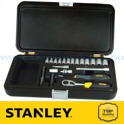 """Stanley 35 részes 1/4"""" Dugókulcs készlet"""
