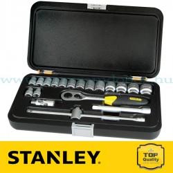 """Stanley 20 részes 3/8"""" Ipari dugókulcs készlet"""