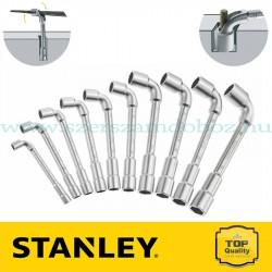 Stanley 10 db 6x12 pontos pipakulcs készlet