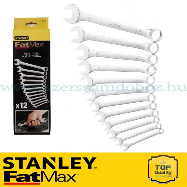 Stanley FatMax 12 db-os Kombinált villáskulcs készlet