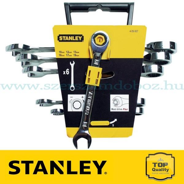 Stanley 6 db-os Racsnis csillag-villáskulcs készlet