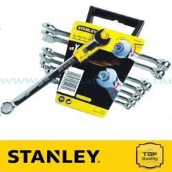 Stanley 8 db-os Speciális kialakítású csillag-villáskulcs készlet