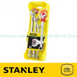 Stanley 4 db-os Racsnis csillag-villáskulcs készlet
