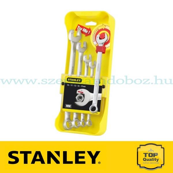 Stanley 5 db-os Racsnis csillag-villáskulcs készlet