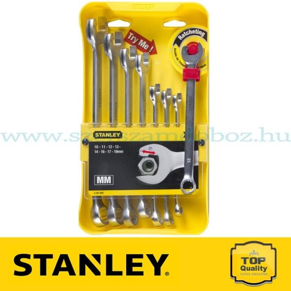 Stanley 8 db-os Racsnis csillag-villáskulcs készlet
