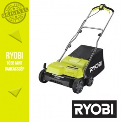 RYOBI RY1400SF35B Elektromos Gyepszellőztető - hálózati, 1400 W, 35 cm (fűgyűjtővel és szellőztető hengerrel)