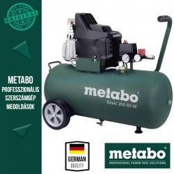 Metabo Basic 250-50 W Kompresszor + LPZ 4 Tartozék szett